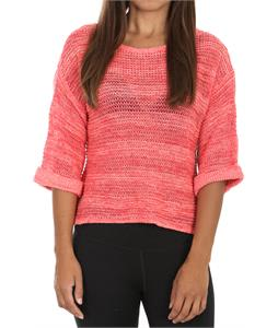 Roxy Total Uproar Sweater Paradise Pink Pattern