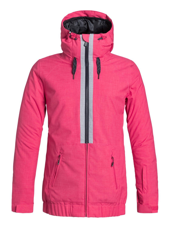 Roxy Valley Hoodie Snowboard Jacket Womens
