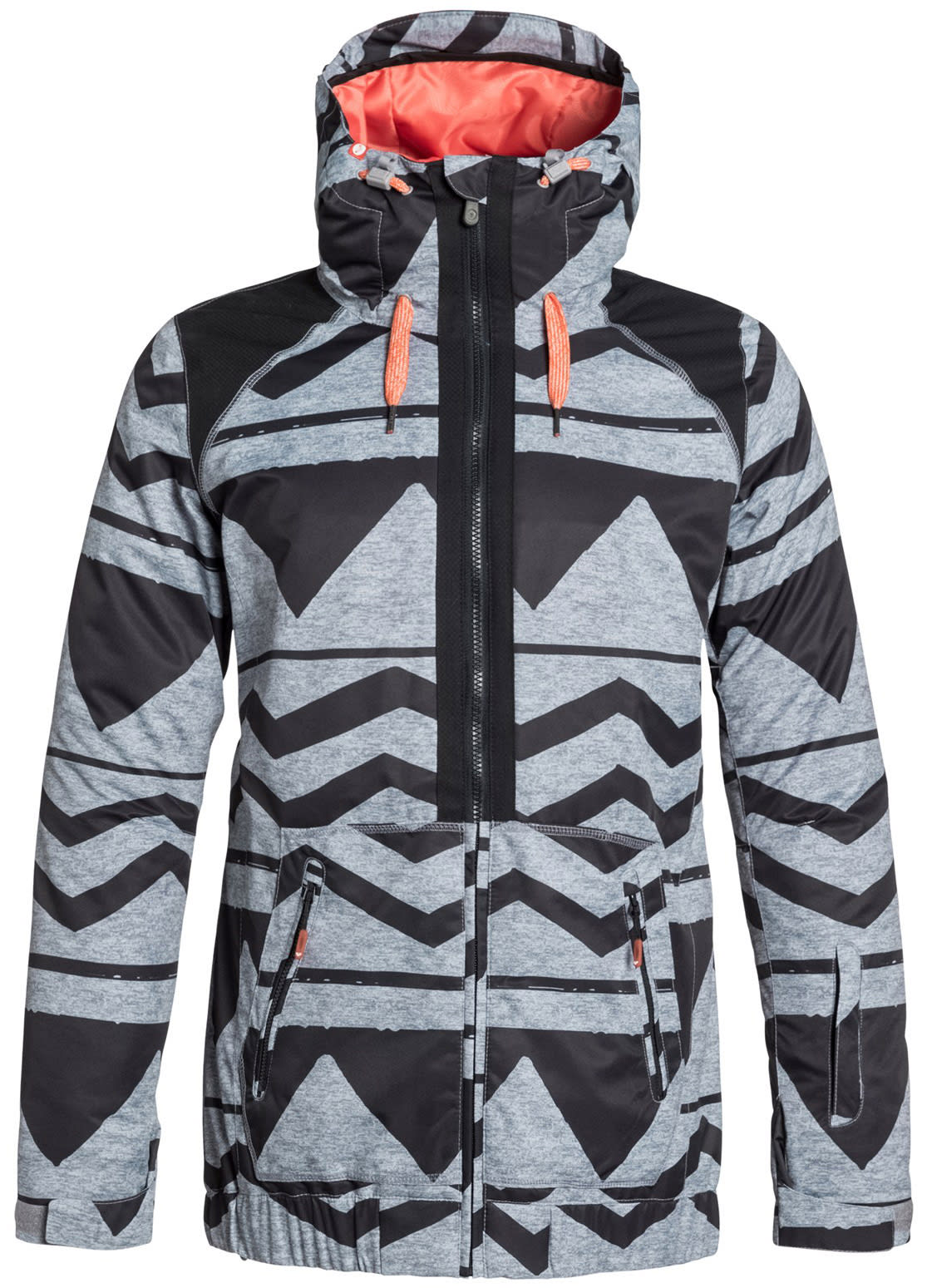 On Sale Roxy Valley Hoodie Snowboard Jacket Womens Up To