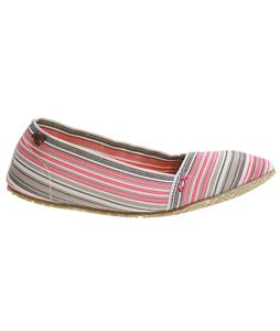 Roxy Verbena Shoes Pink Stripe