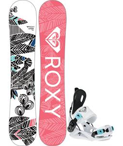 Roxy Wahine Snowboard w/ Wahine Speed Entry Bindings