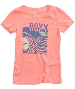 Roxy Wave On Wave T-Shirt Neon Coral