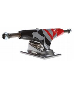Royal Four Low Skateboard Trucks Black/Red/Raw 5