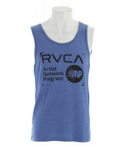 RVCA Anp Stamp Tank Royal