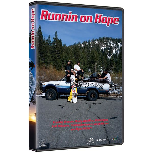 Runnin On Hope Snowboard DVD