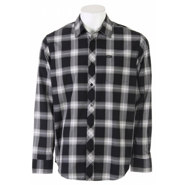 RVCA 17Th Street Plaid L/S Shirt