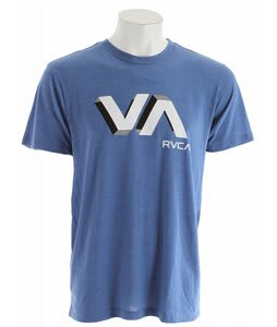 RVCA 3D VA T-Shirt Royal