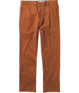 RVCA All Time Chino Pants Cocoa Brown