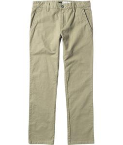 RVCA All Time Chino Pants Khaki