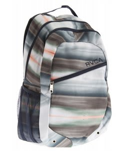 RVCA Apocalypse Pak Backpack Navy Apocalypse Print