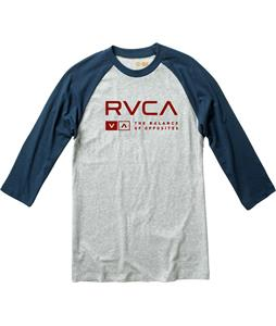RVCA Associate Shirt Athletic Heather/Midnight