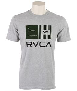 RVCA Balance Bars T-Shirt Athletic Heather/Midnight