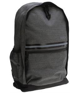 RVCA Barlow Backpack Dark Charcoal 18L