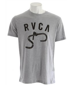 RVCA Bars T-Shirt Athletic Heather