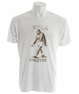RVCA Big Feet T-Shirt Vintage White