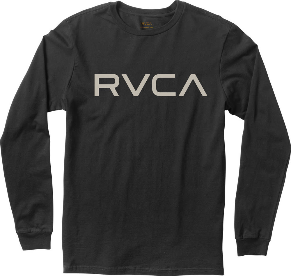 RVCA Big RVCA T-Shirt (black) buy at skatedeluxe
