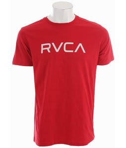 RVCA Big RVCA T-Shirt Red