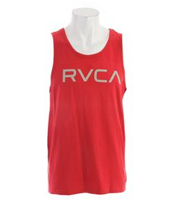 RVCA Big RVCA Standard Tank Red