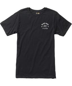 RVCA Black Hats T-Shirt Black