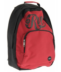 RVCA Black Back Bomber Pak Backpack Black/Ruby