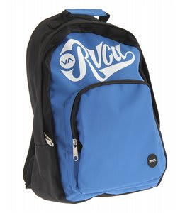 RVCA Black Back Bomber Pak Backpack Royal Fade/White
