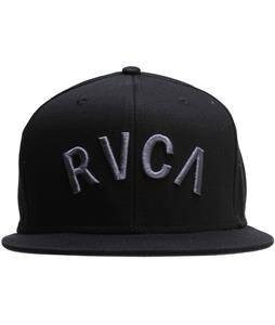 RVCA Blocks Snapback Cap Black