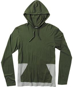 RVCA Breaks Hood Shirt Dark Military