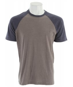 RVCA Camby Shirt Gray Noise