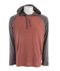 RVCA Castro Raglan Henna Heather