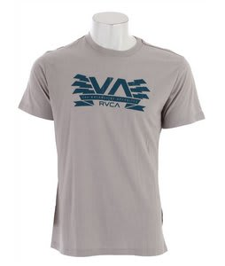 RVCA Charged Va T-Shirt Cool Grey