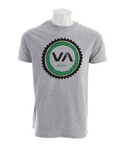 RVCA Cogwheel Standard T-Shirt Athletic Heather