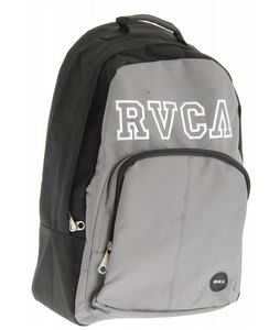 RVCA College Drop Out Pak Backpack Black/Industrial Gray
