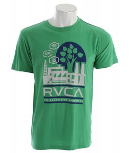 RVCA Construct T-Shirt Kelly Green
