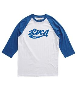 RVCA Crola Raglan White/Royal
