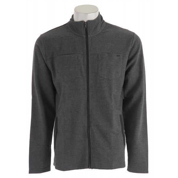 RVCA Dante Slim Fit L/S Zip Shirt