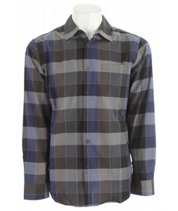 RVCA Dare L/S Shirt Slate