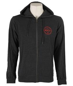 RVCA Directive Hoodie Charcoal Heather