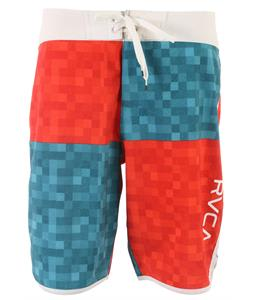 RVCA Distressed Pixel Boardshorts