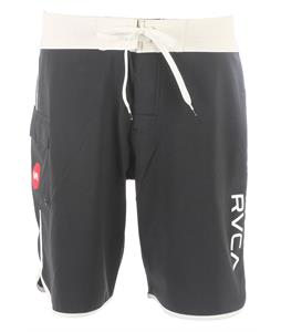RVCA Eastern 20in Boardshorts Vanilla/Black