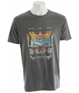 RVCA EEcat Crest T-Shirt Pavement