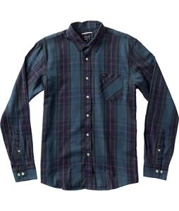 RVCA Elijah L/S Shirt Night Shadow