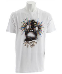 RVCA Face T-Shirt White