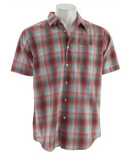 RVCA Grifter Shirt Blood Orange