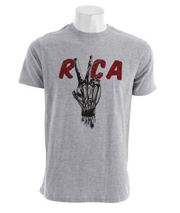 RVCA Hand Study Standard T-Shirt Athletic Heather
