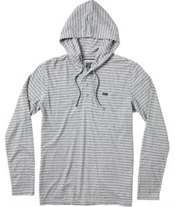 RVCA Heather Henley Hood Shirt Slate