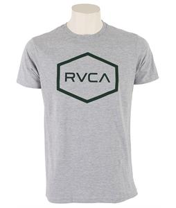 RVCA Hexed Standard T-Shirt Athletic Heather