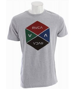 RVCA Hexy T-Shirt Athletic Heather