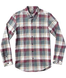RVCA Hook L/S Flannel Dark Slate
