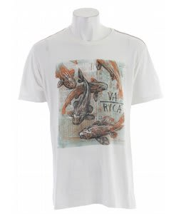 RVCA Koi T-Shirt Vintage White