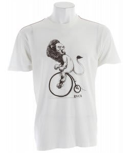 RVCA Lion Ride T-Shirt Vintage White